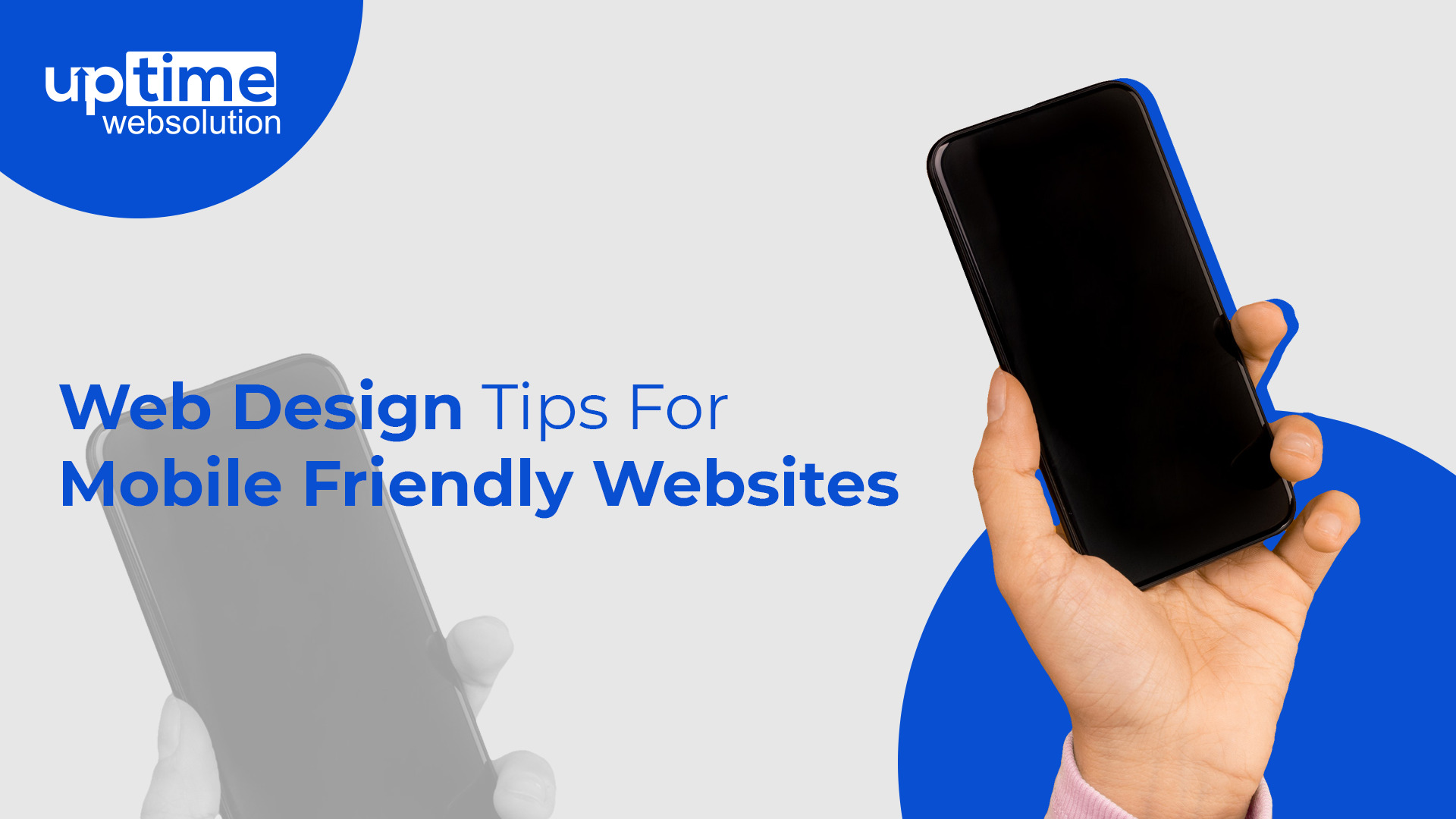 web design tips for mobile friendly websites